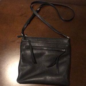 Nordstrom Black crossbody leather purse